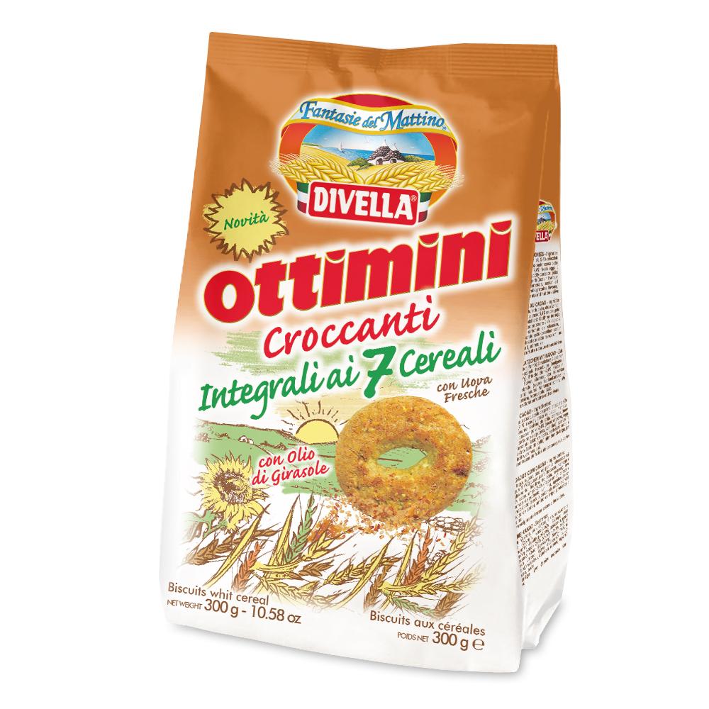 ottimini croccanti ai 7 cereali divella